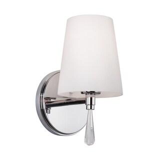 Murray Feiss Monica 1-light Chrome Bath Vanity Strip Light