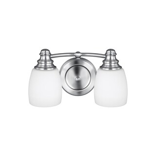 Bentley 2-light Chrome Vanity Fixture