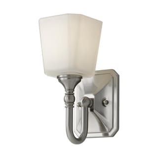 Concord Brushed Steel 1-light Wall Sconce