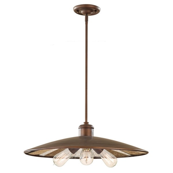 Urban Renewal Astral Bronze 1-light Pendant