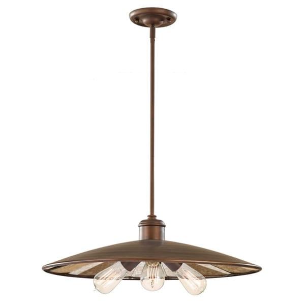 Urban Renewal Astral Bronze 1-light Pendant
