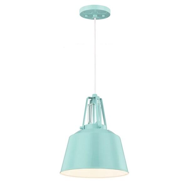 Mini High Gloss Blue 1-light Pendant