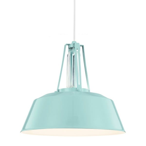 High Gloss Blue 1-light Pendant