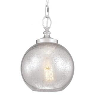 Tabby Polished Nickel 1-light Mini Pendant