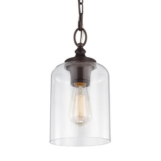 Hounslow Mini Oil Rubbed Bronze 1-light Pendant