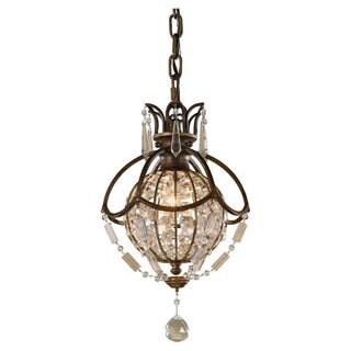 Oxidized Bronze 1-light Mini Pendant