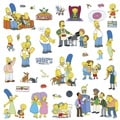 The Simpsons Peel and Stick Wall Decals