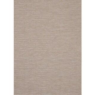 Loft Prime Geometric Steel Grey Rug (7'10 x 10')