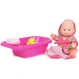 The New York Doll Collection 8-inch Bathtime Baby Doll