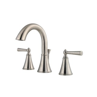 Pfister Saxton Lavatory 49 SX 8IN Widespread 2-handle Brushed nickel Faucet