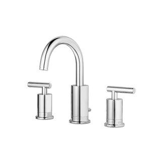 Pfister Contempra Lavatory 049 CN Widespread 3H 2-handle Polished Chrome Faucet