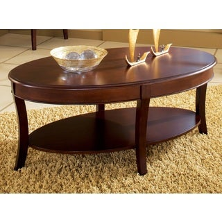 Tyler Oval Coffee Table