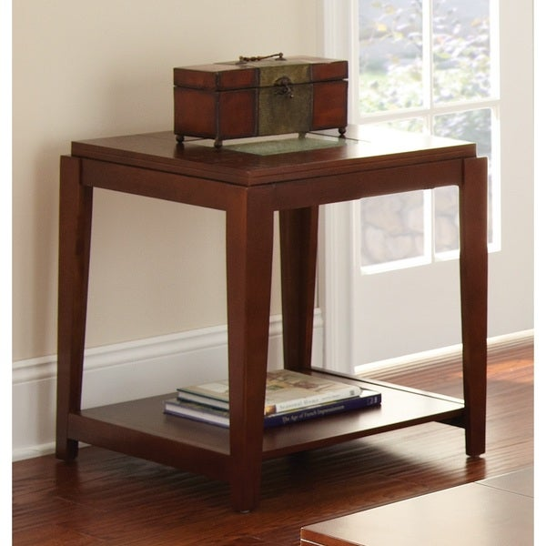 Greyson Living Juliana Inset Cracked Glass End Table 16850637 Shopping Great