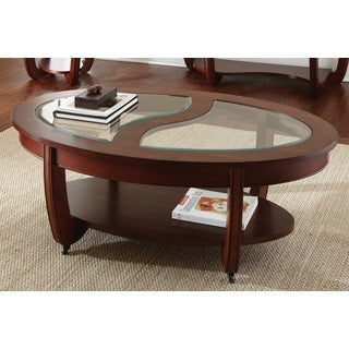 Lancaster Cherry Oval Coffee Table