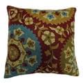 Suzani Artistic Design Crewel Embroidered Decorative Pillow