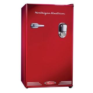 Nostalgia Electrics RRF300DNCRED Red Retro Refrigerator