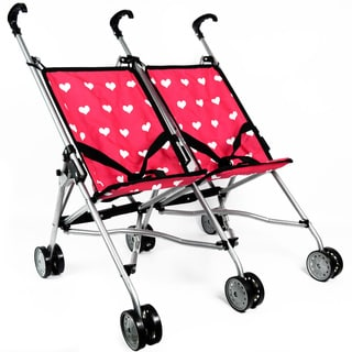 The New York Doll Collection Double Stroller