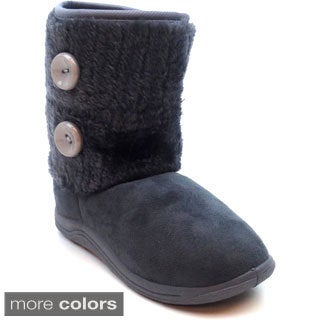 Blue Girls 'K-Moscow' Pull-on Boots (sizes 11-4)
