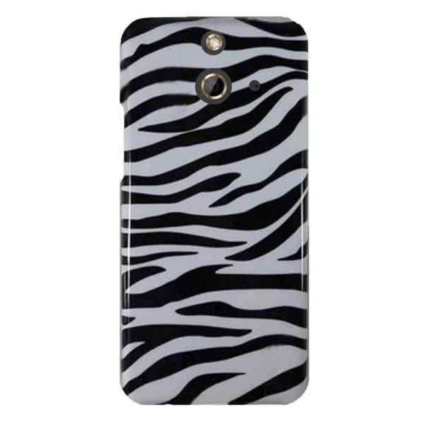 INSTEN Coloful Trendy Pattern Design Rubberized Hard Plastic PC Snap-On Phone Case Cover For HTC One E8