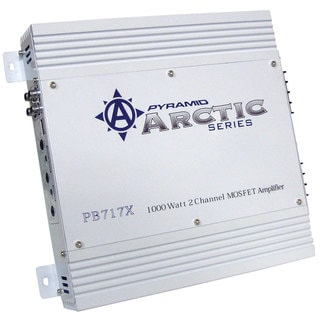 Pyramid 1000 Watt 2 Channel Bridgeable MOSFET Amplifier (Refurbished)
