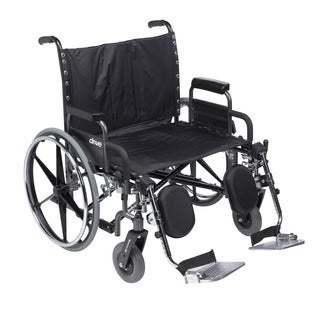 Drive Medical Deluxe Sentra Heavy-duty Extra Extra-wide Wheelchair