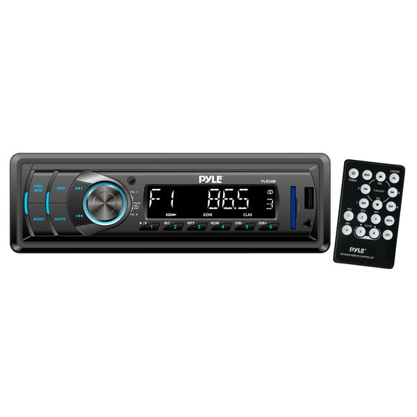 Pyle RBPLR34M In-Dash AM/FM/ MP3/ USB/ AUX/ SD card Car Receiver (Refurbished)