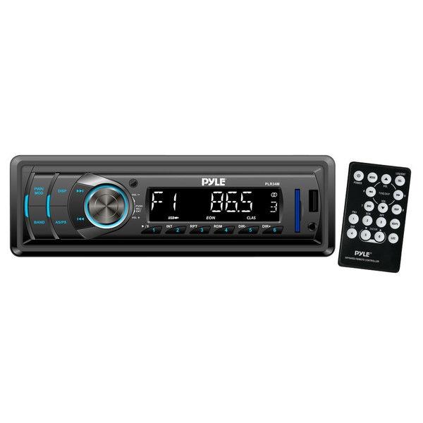 Pyle RBPLR34M In-Dash AM/FM/ MP3/ USB/ AUX/ SD card Car Receiver (Refurbished)