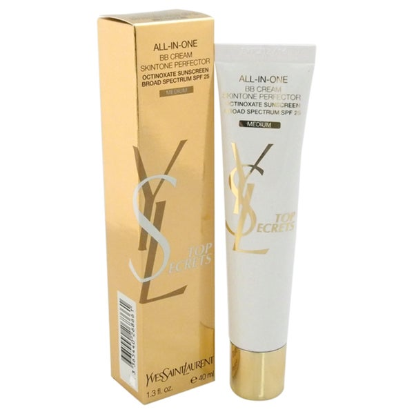 Yves Saint Laurent Top Secrets All-In-One BB Cream Medium Skintone SPF 25 1.3-ounce Primer