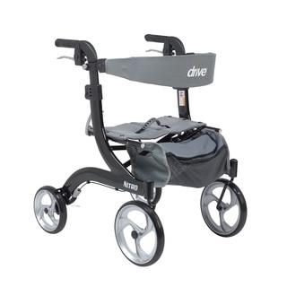Drive Medical Nitro Hemi Height Euro Style Walker Rollator