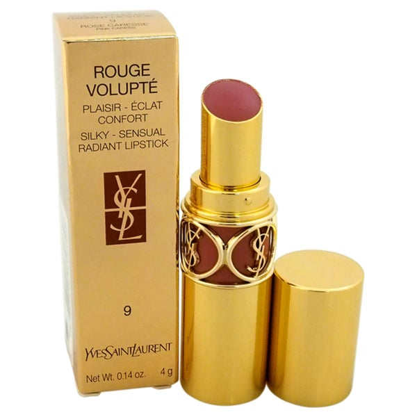 Yves Saint Laurent Rouge Volupte Silky Sensual Radiant #9 Pink Caress Lipstick