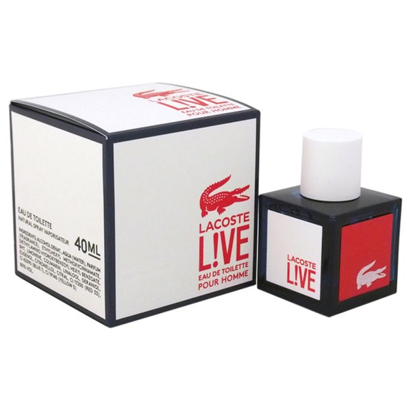 Lacoste Live Men's 1.3-ounce Eau de Toilette Spray
