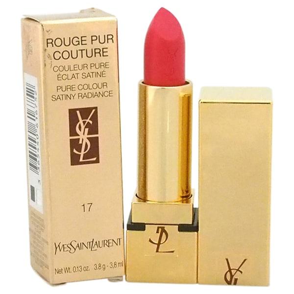 Yves Saint Laurent Rouge Pur Couture Pure Colour Satiny Radiance #17 Rose Dahlia Lipstick