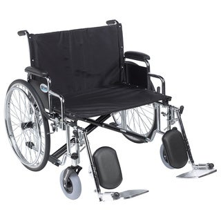 Drive Medical Sentra EC Heavy-duty Extra Extra-wide Wheelchair