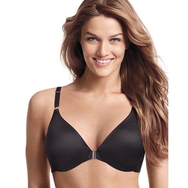 Playtex Secrets Sensationally Sleek Seamless Front-close Underwire Bra