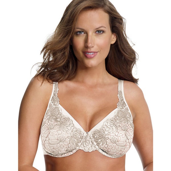 Playtex Secrets Embroidered Elegance Underwire Bra