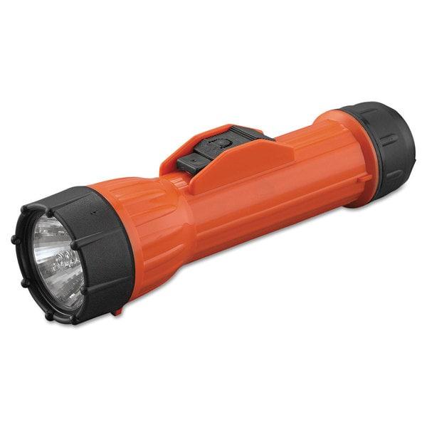 Bright Star WorkSafe Waterproof Flashlight Orange/ Black (2-D batteries)