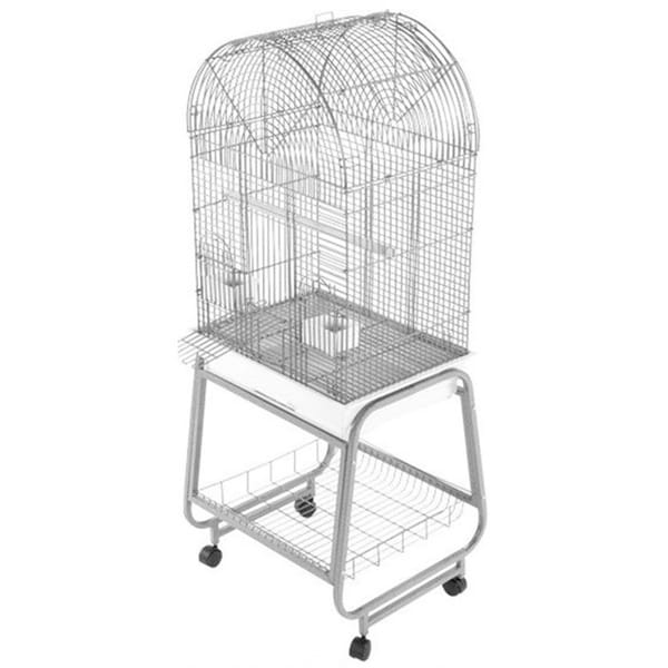 Open Top Dome Bird Cage