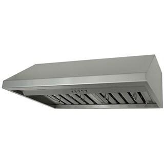 Kobe Brillia OVS-CHX7936SQB-40 36 Inch Under Cabinet Stainless Steel Range Hood