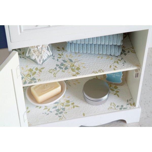 Kitchen Shelf Liner Reviews: Con-Tact Brand Grip Prints Non-adhesive Shelf Liner- Aspen