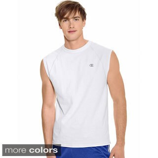 Champion Men's Cotton Jersey Raglan T-shirt