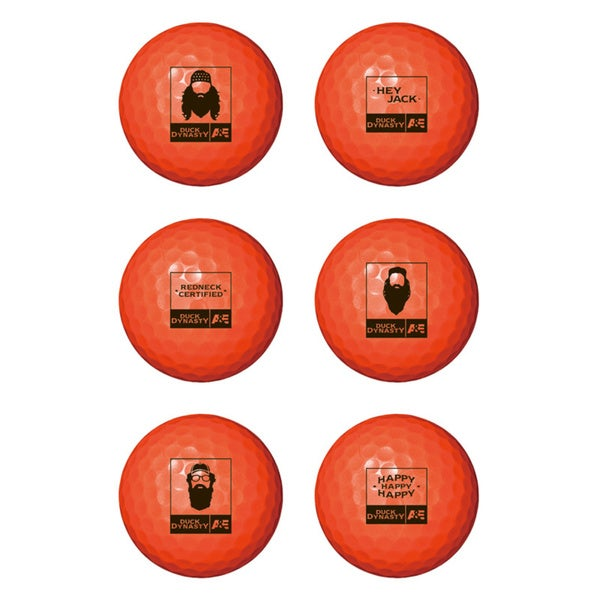 Srixon Duck Dynasty Golf Balls (Pack of 6)