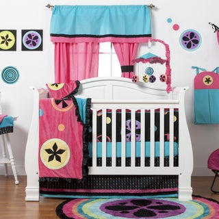 Magical Michayla 8-piece Crib Bedding Set