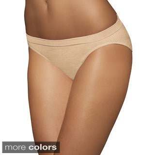 Bali Comfort Revolution Seamless Microfiber Bikini Panty