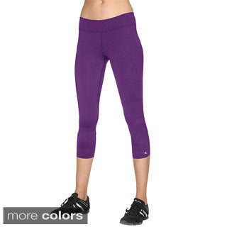Champion Women's Double Dry Absolute Workout Fitted Knee Tights