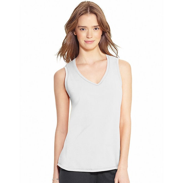 Champion Authentic Women's Jersey V-Neck Tank 15552916
