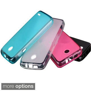 INSTEN Premium Plain Color TPU Rubber Candy Skin Phone Case Cover For Nokia Lumia 530