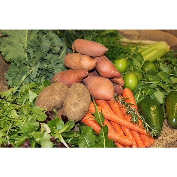 Jumping Frog Creek Certified Organic Produce with Duck Eggs and Juice Oranges (Local Delivery)