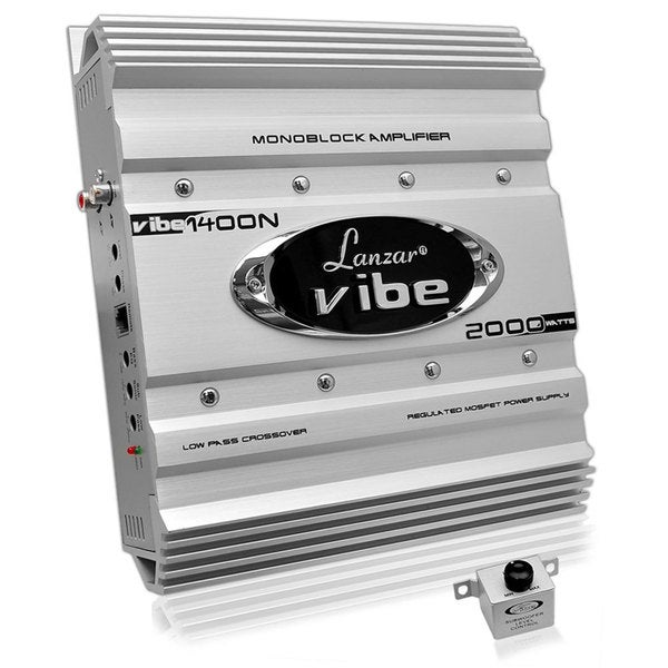 Lanzar Vibe 2000W Mono Block MOSFET Amplifier (Refurbished)