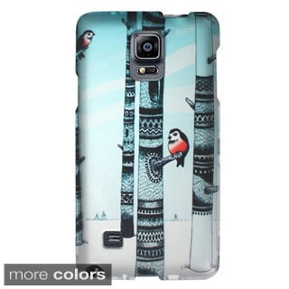 INSTEN Animal Print Pattern Rubberized Hard PC Plastic Snap-on Phone Case Cover For Samsung Galaxy Note 4
