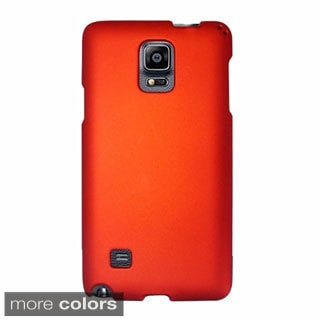 INSTEN Rubberized Hard PC Plastic Snap-on Phone Case Cover For Samsung Galaxy Note 4